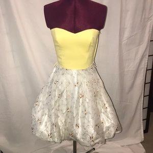 Betsey Johnson corset cocktail dress
